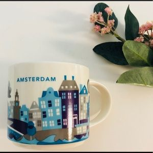 Starbucks Mug• Amsterdam• You Are Here Collection